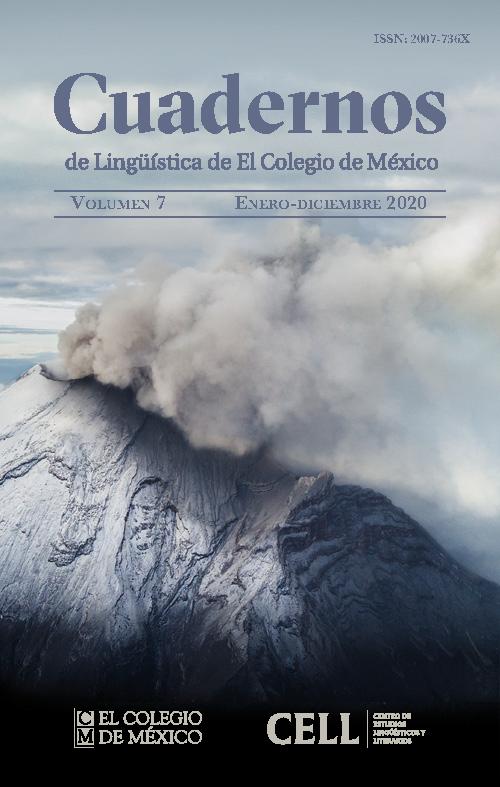 Cuadernos de Lingüística Volumen 7 2020